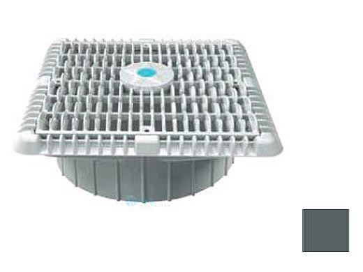 "AquaStar 9"" Suction Outlet Cover with Deep Mud Frame | Dark Gray | WAV9WR105A"