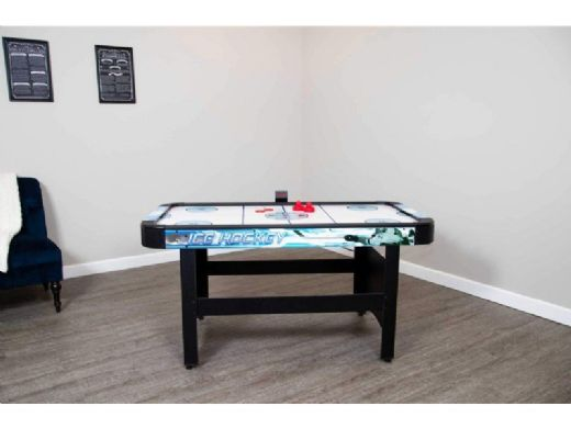 Hathaway Face Off 5 Foot Air Hockey Table With Electronic Scoring Ng1009h Bg1009h