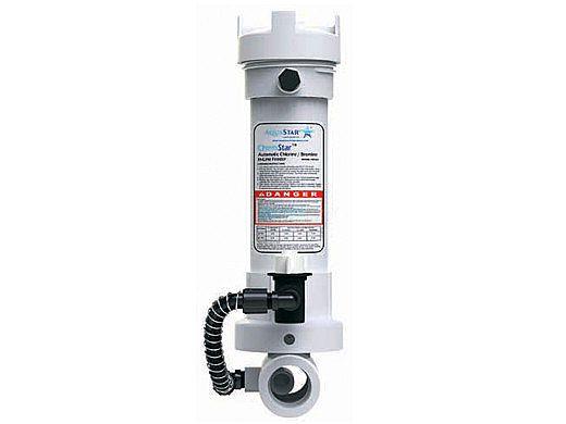 AquaStar ChemStar In-line Automatic Chlorinator Tab Feeder   SPCHR   CH100