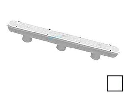 "AquaStar 32"" Channel Drain with 3 Port PVC Sump   32CDPHP101"