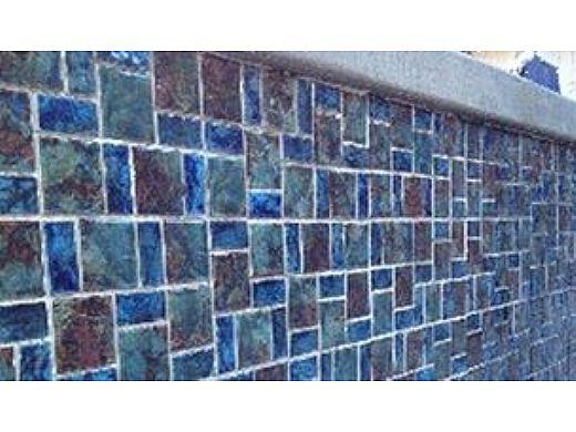 Fujiwa Tile Legacy Random Block Series Blue Blend 96