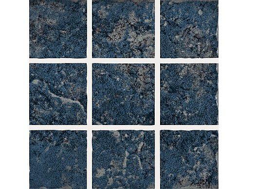 National Pool Tile Geosheen 2x2 Series   Blue   GEOBLU2X2