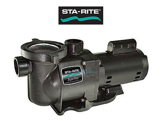 Sta-Rite SuperMax .75HP Energy Efficient 2-Speed Pool Pump 115V | PHK2RAY6D-101L