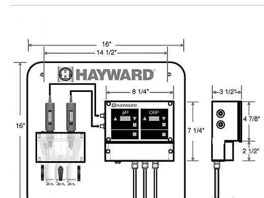 hayward hcc 2000 water chemistry controller