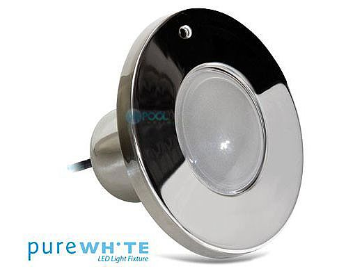 J&J Electronics PureWhite LED Spa Light | 120V Equivalent to 100W 100' Cord | LPL-S1W-120-100-P
