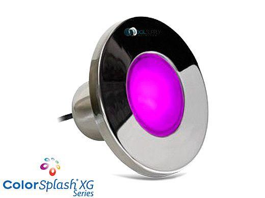 J&J Electronics ColorSplash XG Series Color LED Spa Light | 12V 50' Cord | LPL-S2C-12-50-P