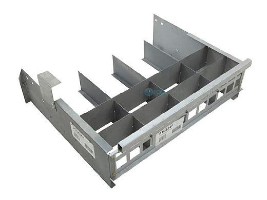 Raypak 406A Burner Tray without Manifold & Burners   010424F