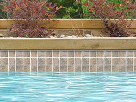 National Pool Tile Sierra 2x2 Series | Blue Slate | SIERRA BSL2X2