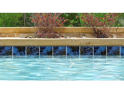 National Pool Tile Martinique 6x6 Series | Royal Blue | MARF635
