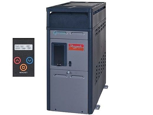Raypak 156A Above Ground Pool and Spa Heater | Digital Controls Electronic Ignition | Natural Gas 150K BTU | P-M156A-EN-C 014802 P-R156A-EN-C 014784