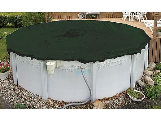 Arctic Armor Winter Cover | 33\' Round for Above Ground Pool | 12-Year  Warranty | WC814-4