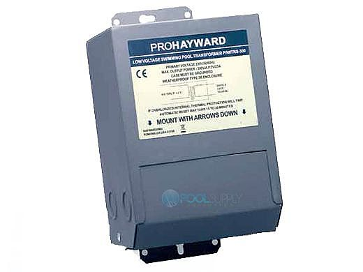 Hayward Low Voltage Lighting Transformer | 220/230V 50-60HZ 12V 300W | TRS-300