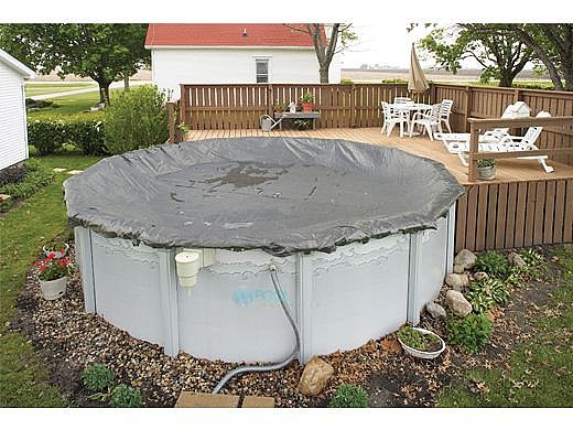 Arctic Armor Winter Cover | 15' Round for Above Ground Pool | 20-Year Warranty | WC9801