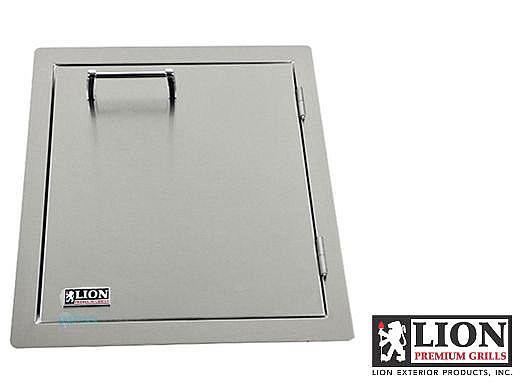 Lion Premium Grill Stainless Steel Vertical Door with Towel Rack | L62945