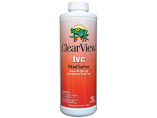 ClearView TVC Tile & Vinyl Cleaner | 32 oz | CVLTVCQT12