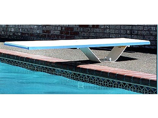 SR Smith Frontier II Jump Stand with Frontier II Board Complete   6' Marine Blue with Matching Marine Blue Tread   68-209-58663T