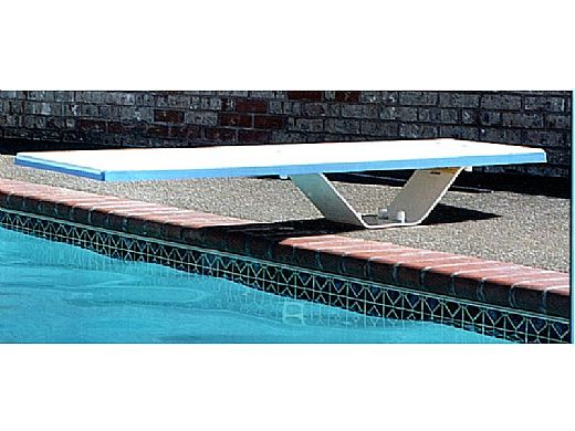SR Smith Frontier II Jump Stand with Frontier II Board Complete | 8' Pebble with Clear Tread | 68-209-586823