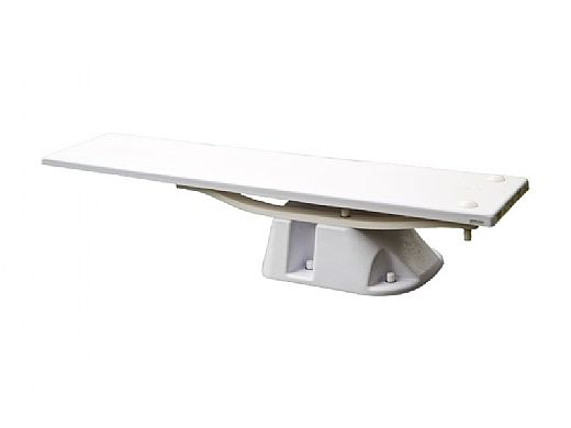 SR Smith Salt Jump System with Frontier III Board Complete   6' Radiant White with White Tread   68-211-5962