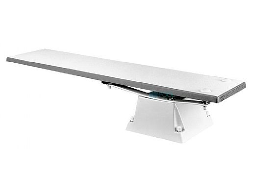 SR Smith Supreme Jump Stand with Frontier lll Board Complete   6' Gray Granite with Clear Tread   68-209-61624