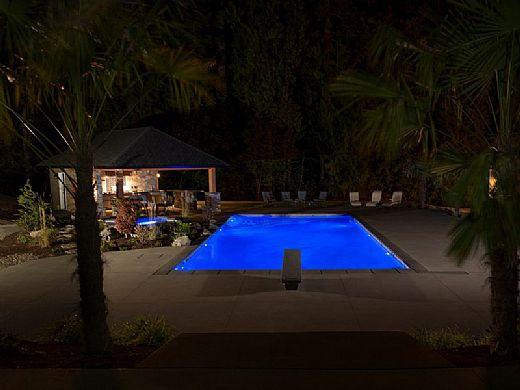 SR Smith Treo Color RGB LED Underwater Pool Light | 5W 12V 150' Cord | FLED-C-TR-150