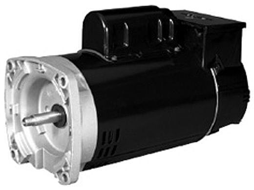 Replacement Square Flange Pool Motor 1HP | 230V 56 Frame Full-Rated | Two Speed with Timer B2982T | EB2982T