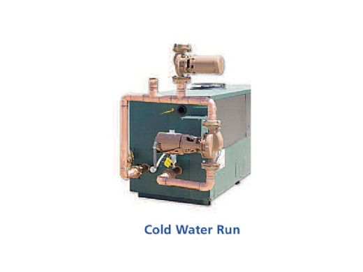 Raypak MVB P-504A Cold Run Commercial Vertical Swimming Pool Heater with Versa Control and Cold Run | Natural Gas 500,000 BTUH | Cupro Nickel Heat Exchanger | 014381