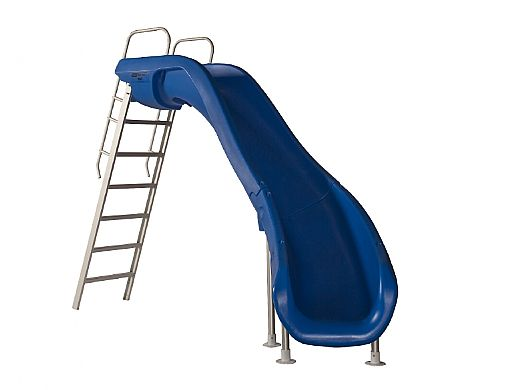 SR Smith Rogue2 Pool Slide   Right Curve   White   610-209-5812