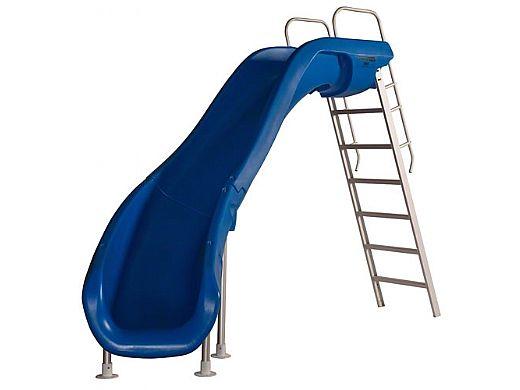 SR Smith Rogue2 Pool Slide   Left Curve   White   610-209-5822
