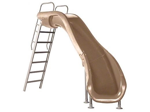 SR Smith Rogue2 Pool Slide   Right Curve Taupe   610-209-58110