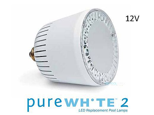 J&J Electronics PureWhite 2 Retrofit LED Light Bulb for Sta-Rite SwimQuip Series 0508 | 12V | LPL-P2-WHT-12-SQ-S