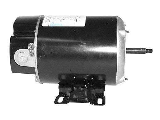 Replacement Threaded Shaft Thru-Bolt Pool Motor .75HP | 115V 48 Frame Single Speed BN24 | EZBN24