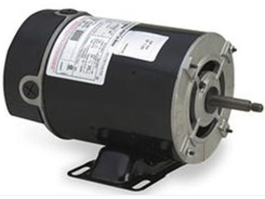 Replacement Threaded Shaft Thru-Bolt Pool Motor .75HP | 115V 48 Frame Two Speed BN36 | EZBN36