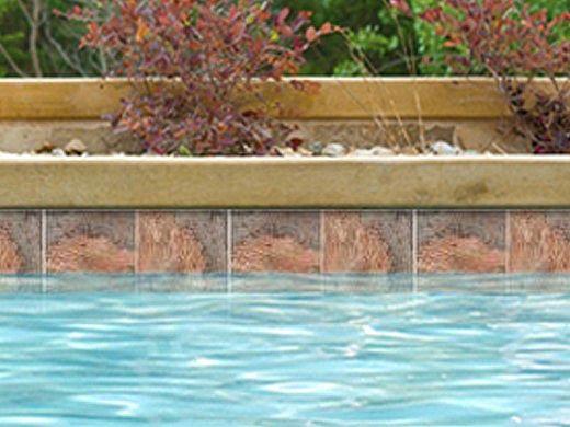National Pool Tile Gemstone 6x6 Series | Oak | GMS-OAK