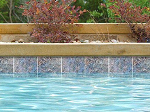 National Pool Tile Gemstone 6x6 Series Blue Gms Blue