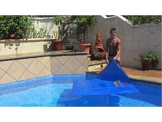 Splash-A-Round Pools Noair Heat Squares   S-1254