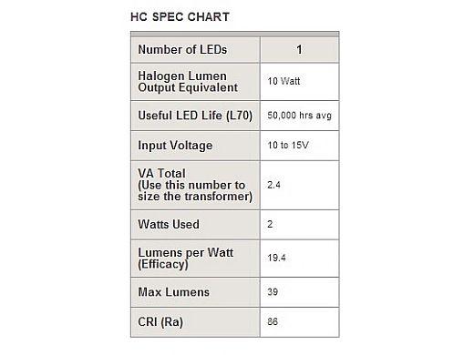 """FX Luminaire HC 1 LED Pathlight    Copper Finish   8"""" Riser   HC-1LED-8R-CU KIT"""