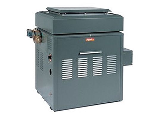 Raypak Raytherm P514 Commercial Swimming Pool Heater without Top | Natural Gas 511,500 BTUH  | California Code | 001429