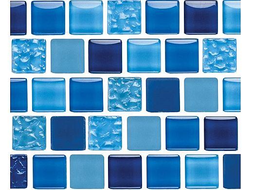 National Pool Tile Essence 1x1 Glass Tile | Royal Blue | ES-ROYAL 1X1