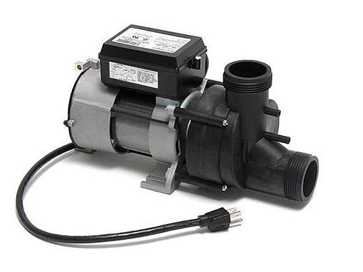 Balboa Bath Pump 5.5 Amp 115V 1 Speed w/Air Switch & Cord | 1050031