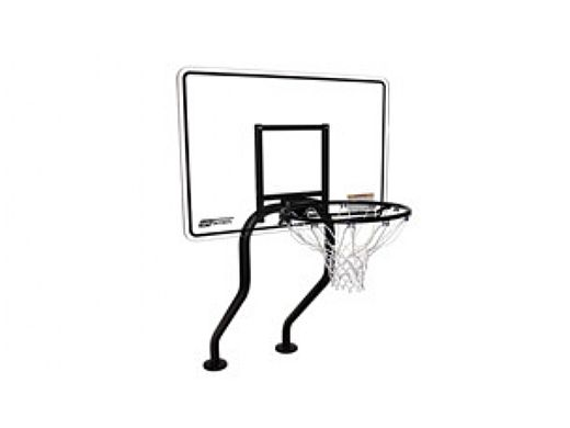 SR Smith Residential Salt Friendly Basketball Game | Stainless Steel Frame | With Anchors | S-BASK-CH