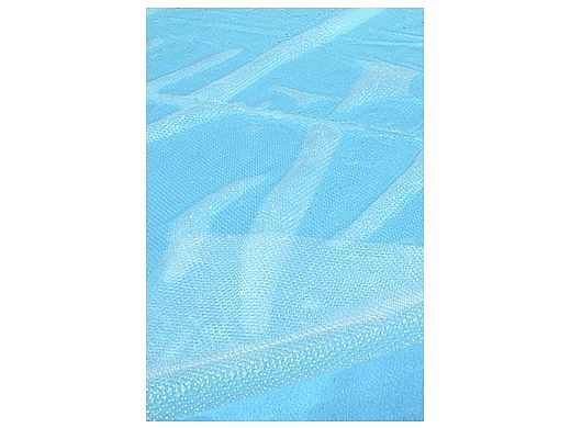 Supreme Solar Cover   12' x 24' Rectangle for In Ground Pool   Clear   5-Year Warranty   12 MIL Thickness   SC-CL-000240