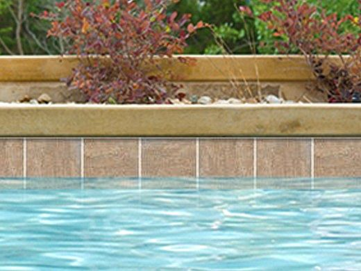 National Pool Tile Sim. Quartzite 6x6 Series   Sand   SQZ-SAND