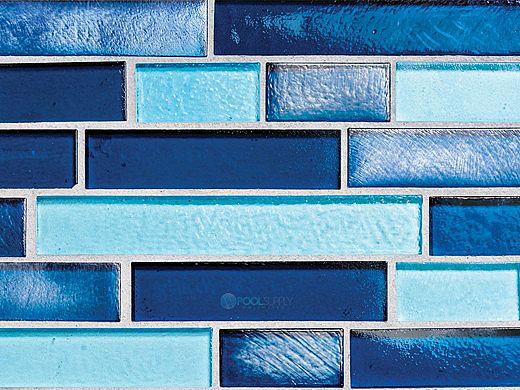 National Pool Tile Aquascapes Interlocking Glass Tile ...