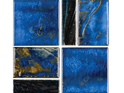 National Pool Tile Escapes Series Pool Tile   Coastal Blue   ESC-BLGLOSS