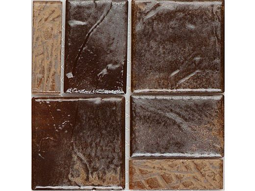 National Pool Tile Escapes Series Pool Tile | Driftwood |  ESC-BRDARK