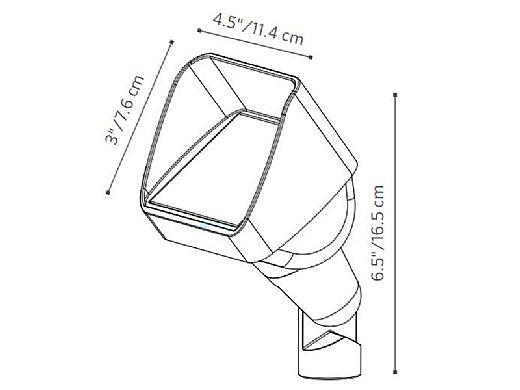 FX Luminaire LC Zone Dimming LED Up Light | 9 LED 10W | Bronze Metallic | LC-ZD-9LED-BZ