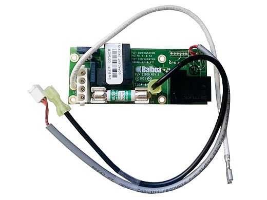 Hydro Quip Balboa PCB VS EL Series Expander Dual Relay w Fuse | 33-0029C-K