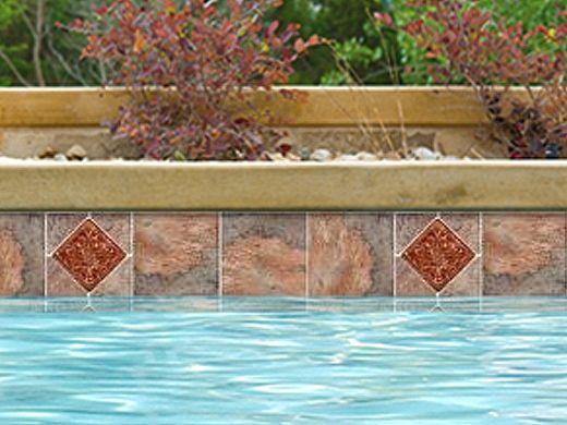 National Pool Tile Gemstone 6x6 Series | Oak Deco | GMS-OAK DECO