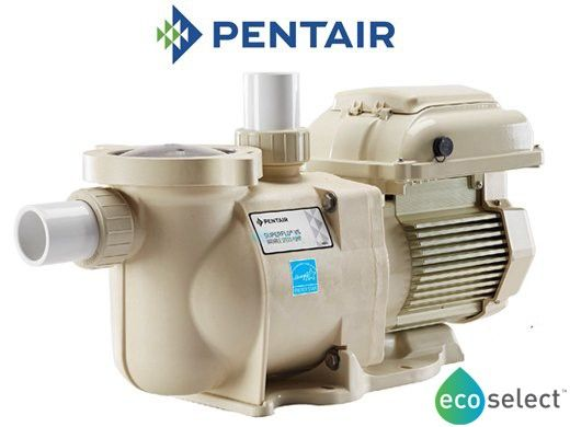 Pentair SuperFlo VS Energy Efficient Variable Speed Pool Pump | 1.5HP Single Phase 115-230V 50-60HZ | EC-342001