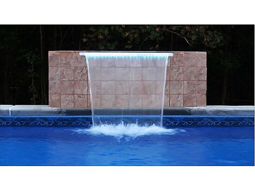 "Brilliant Wonders 12"" LED Waterfall Back Port 